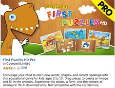 FREEbie: Today's FREE Android App! First Puzzles HD Pro!