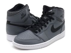 This is how it all started in 1985. If you are a Jordan enthusiast, you won't be able to go without this hip new twist on a classic style.  Authentic Air Jordan Wings logo on the lateral side.  The tongue backing features the exclusive numbering system dedicated to this retro style.  #sneakerhead #nike #airjordans #sneakers #shoes #style #trendy #basketball