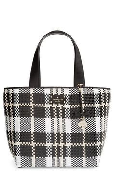 kate spade new york 'bay drive summer' woven tote available at #Nordstrom