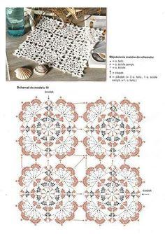 Patterns and motifs: Crocheted motif no. 973