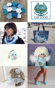 gifts in blue by Vladimir on Etsy--Pinned with TreasuryPin.com