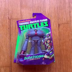2012 TMNT BAXTER STOCKMAN MOC Signed by Comedian Phil Lamarr at 2013 Denver Comicon