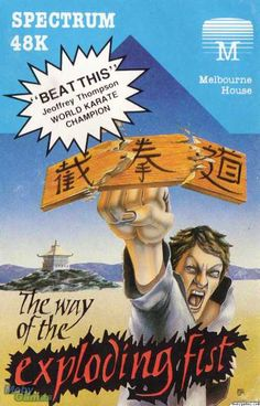 ZX Spectrum Games - The Way of the Exploding Fist