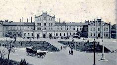 https://flic.kr/p/wgTGis | Historische Bilder von Zittau,Bahnhof Zittau | Bahnhof in Zittau 1900