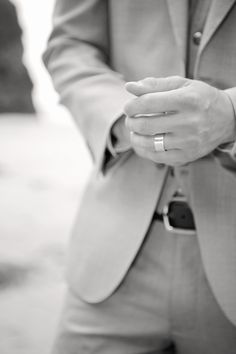 Sterling Silver Mens chunky wedding band,  Summer Haze » Natalie Myra Photography