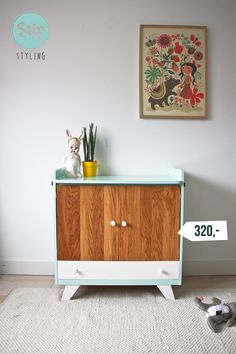 retro-vintage-commode-eiken-deurtjes