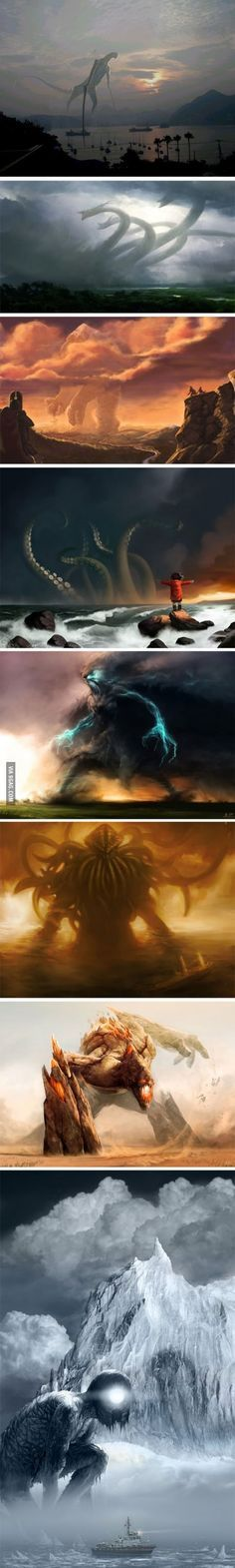 When The Old Gods Return...