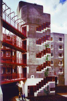 Housing estate in Köln-Chorweiler, Gottfried Böhm, 1969-75