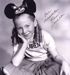 After her stint with the Mickey Mouse Show, Karen completely retired from show business. Description from catsafterme.com. I searched for this on bing.com/images