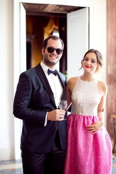 Love these uber stylish wedding guests