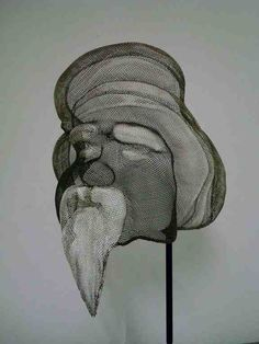 Wire Mesh Sculpture ¨Tuareg I ¨