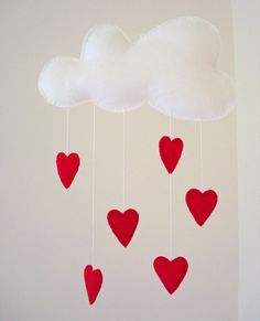 Love+Mobile+Red+by+ALittleWorld+on+Etsy,+$22.00