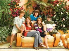 The gang-Jackson, Miley. Oliver, Lilly and Rico :D