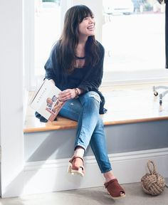 Sven Clogs - Google+ Mill Mercantile in Refinery29 Sven Clogs - Style # 2283 Cedar Nu Buc http://www.svensclogs.com/sling-strap-clog-with-peep-toe-sven-style-2283.html