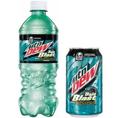 Mountain Dew Baja blast!  In stores now.  Let the hoarding begin.  My Precious.