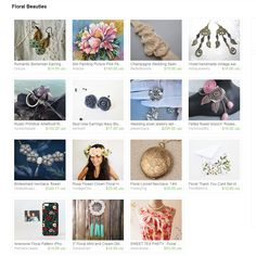 Floral Beauties by Ermellin on Etsy