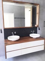 Specialists in custom recycled timber vanities that make a statement! Serving customers across Sydney & around Australia. Timber Bathroom Vanities, Timber Vanity, Bathroom Vanity Units, Wood Bathroom, Diy Bathroom Decor, Bathroom Renos, Bathroom Ideas, Bathroom Designs, Contemporary Bathrooms