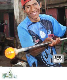 Recycled glas, Bolivia, fair Trade Original