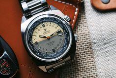 Watches Wanted — 1967 Tissot T12 Navigator Seastar World Time -...