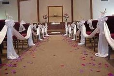 Church Wedding Decorations - Bing Images