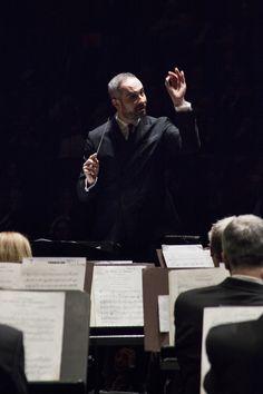 20 Febbraio 2015. Concerto diretto da Antonello Manacorda con l'Orchestra del Maggio Musicale Fiorentino. © Simone Donati / Terraproject / contrasto