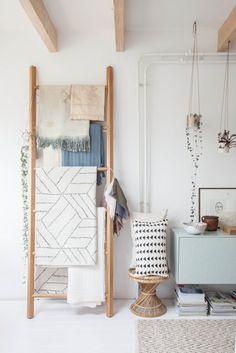 Noix De Déco - Blog Déco & Design inspirant pour la maison: Zoom sur l'étage de travail de Holly Marder