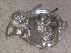 Royal Hickman-Haeger Sterling Silver Tea Set.  Produced in Mexico.  Please contact nylesg@outlook.com or billtd@yahoo.com if you ever find any one or all.