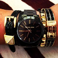 More like black with gold accents but I love that too