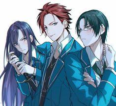 Ensemble Stars, Manga, Akatsuki, Guys And Girls, Anime Couples, Anime Guys, Fan Art, Illustration, Pictures