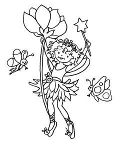 mft-wochenplan: lillifee - mundmotorik | wochen planer