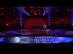 Kris Allen - Ain't No Sunshine (American Idol 8 Top 2) [HQ] - YouTube