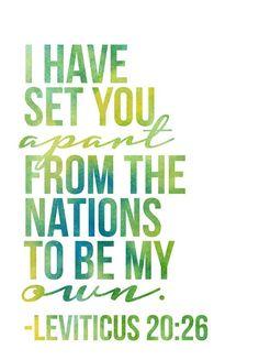 Leviticus 20:26