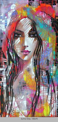 """Sunny Day"", one of Ira Tsantekidou's Dreams paintings"