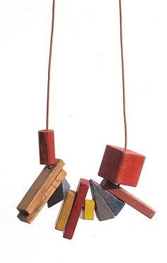 Tara Holmes block necklaces