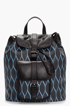 Kenzo backpack (via http://chicityfashion.com/backpacks/)