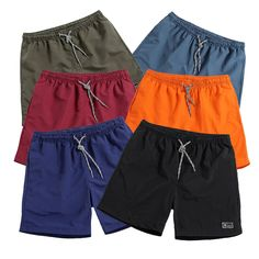 6411280a019b8c Men s Shorts New 2018 Summer Casual Shorts Men Solid Breathable Male Mens  Board Shorts