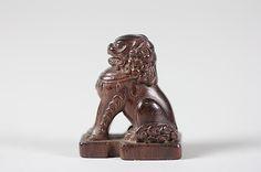 Netsuke of Seated Lion Date: 18th century Culture: Japan Medium: Wood