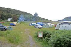 NM3750 : Calgary Bay wild camping site Great Camping Advice
