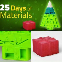Join the #Wolfpack in a #25DaysOfMaterials 3D printing countdown to #Christmas and learn about 25 different materials and their unique properties. #Day1 starts with a #3DPrinted wrapped present in #Nylon  link is in our bio. #3DPrinting #3DPrint #Airwolf3D #CountdownToChristmas #AdventCalendar #Filament #Material #AdditiveManufacturing by airwolf3d