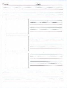 This is the second of 4 templates I created to help my First Graders write. With this second paper, students write their topic sentence and add thr...