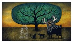 Ambassadors of the Otherworldly print by Andy Kehoe