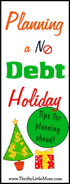 How to start planning a no debt Holiday now. Don't wait until Christmas to start your budget. You can stress less this December!