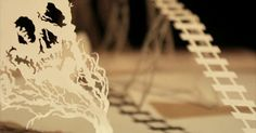 Going West - a paper stop motion animation by Andersen M Studio | strictlypaper