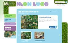 Joue avec Mon Luco Le musée du Luxembourg propose sur son site Internet des jeux consacrés à ses expositions passées comme celle sur Lucas Cranach (vers 1472-1553), ou en cours comme Cézanne et Paris. #art