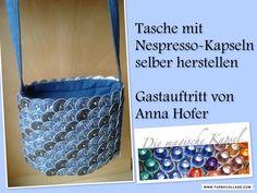 Kapsel Schmuck Anleitung -Tasche mit Kapseln- die magische (Kaffee-) Kapsel