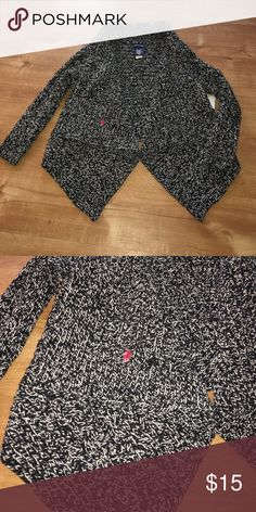 Ralph Lauren shrug Size is 6X. Marled black and white! Ralph Lauren Other