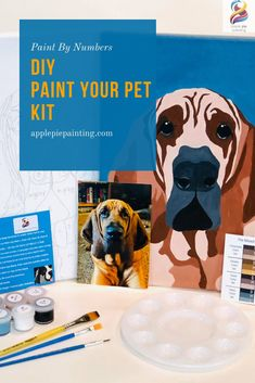Pet art products that create memories and a keepsake fur-ever! Paint Your Pet, Dog Crafts, Paint By Number, Animal Paintings, Dog Art, Amazing Art, Awesome, Pet Portraits, Art Projects
