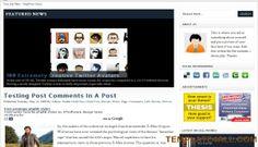 Wordpress Themes - Magazine Wordpress Template Design #wordpress #wordpressthemes #magazine