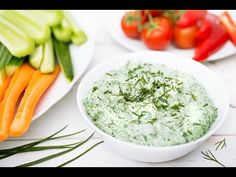 Spinach Ranch Dip - Plant-Based Vegan Recipe