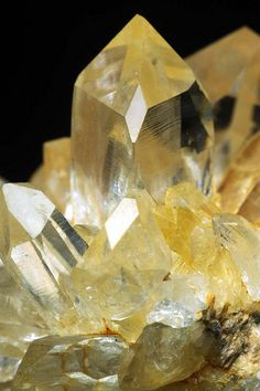Crystals are made of silica, just as we are.